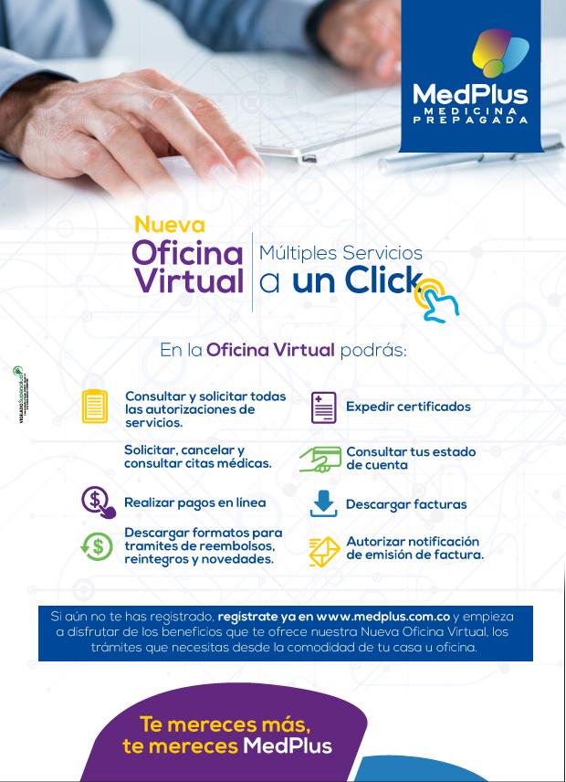 Novedad de servicio archives medplus medicina prepagada for Oficina virtual de tramits cap