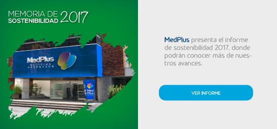 Memorias de sostenibilidad 2017 MedPlus