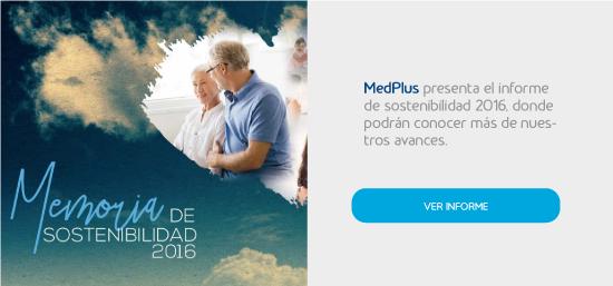 MedPlus Informe Sostenibilidad 2016